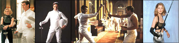 james bond fencing